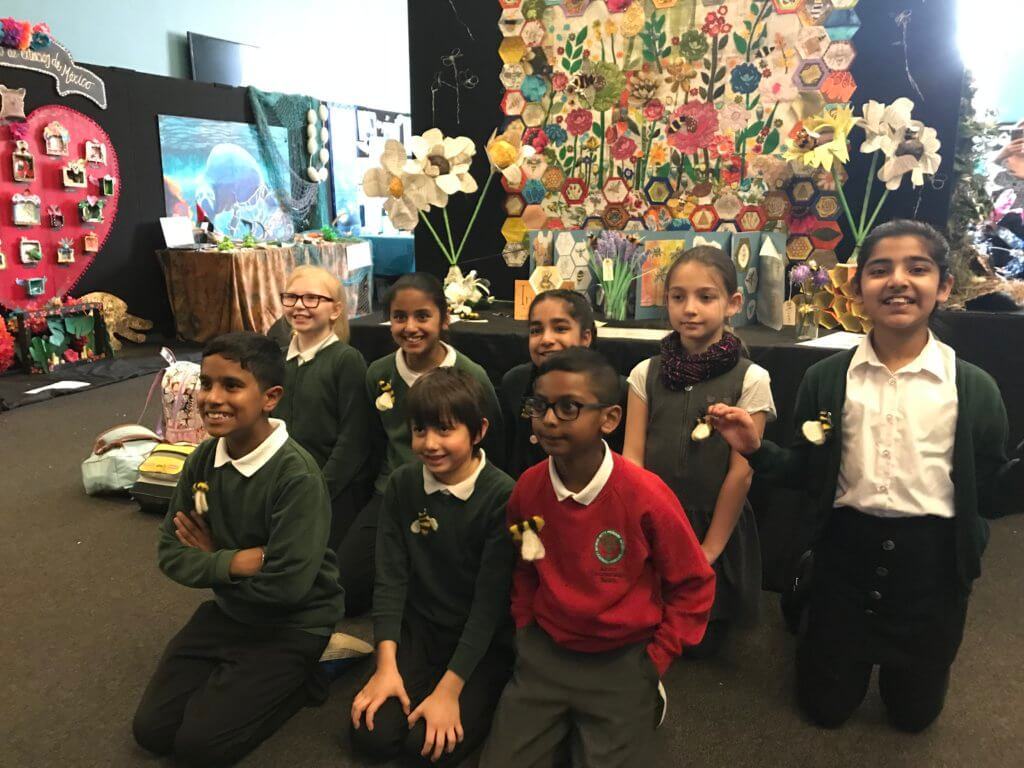 David Shepherd Wildlife Foundation - Global Canvas 2019 - George Betts Primary School