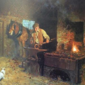 David Shepherd Limited Edition - 'Jimmy's Forge'