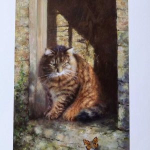 David Shepherd Limited Edition Print, Cat