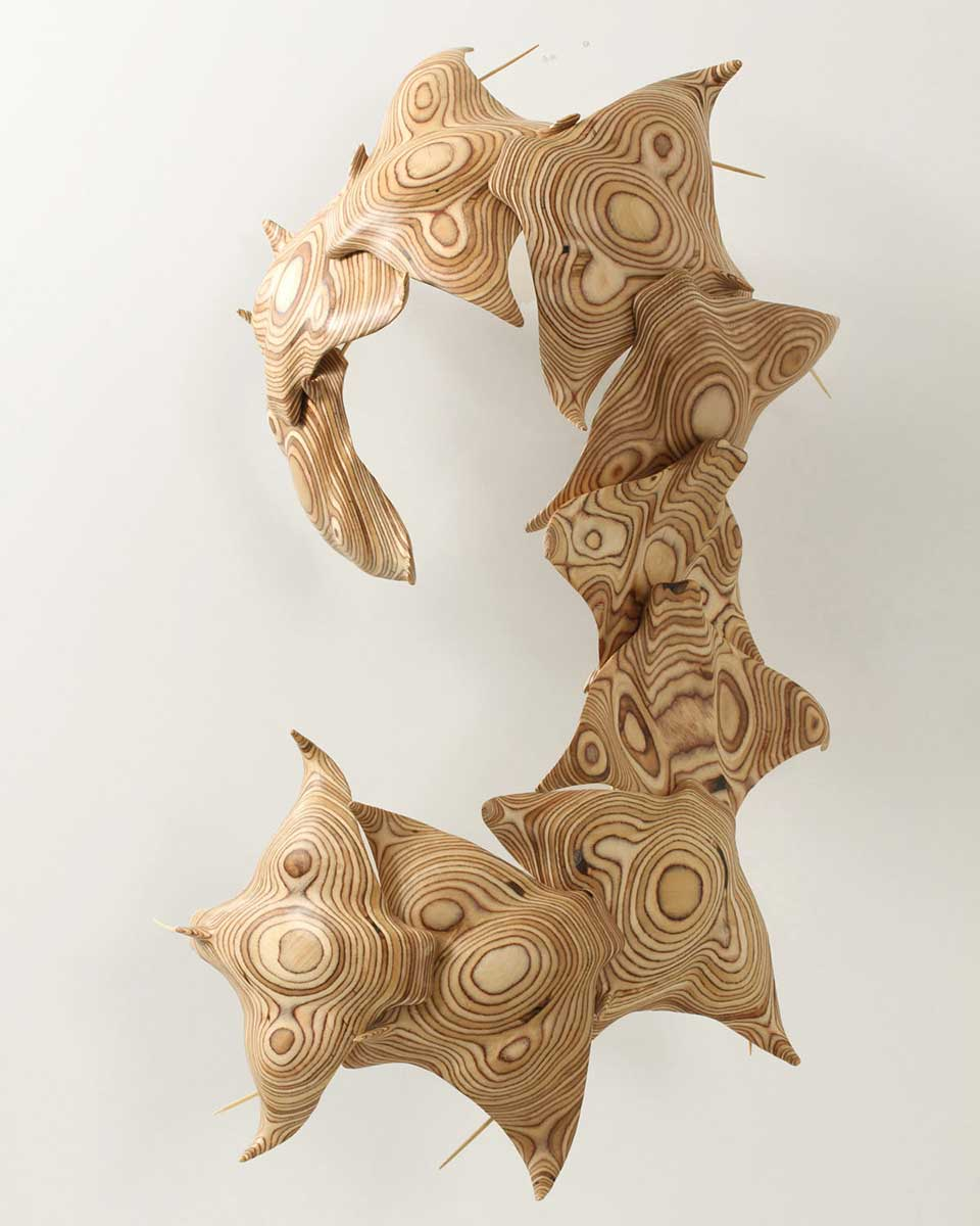 Ray sculpture entry in Wildlife Artist of the Year 2020
