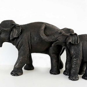 Asian elephant sculpture by Suzie Marsh