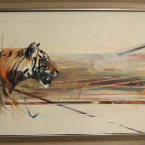 Buy this stunnign original tiger by Emilly Lamb