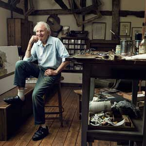 david shepherd in his workshop