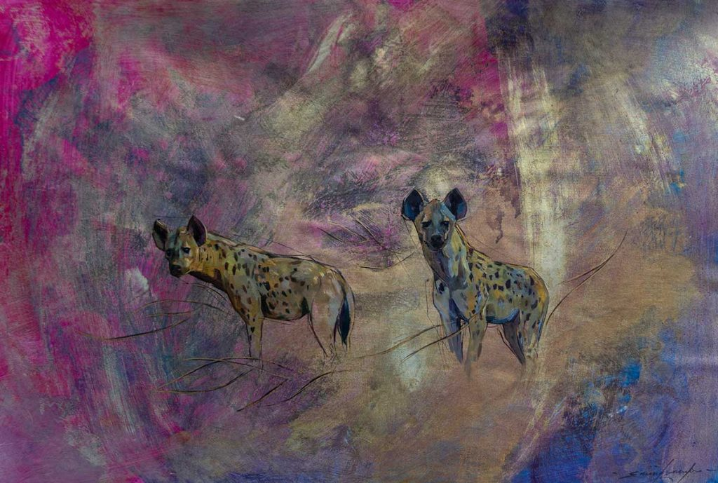 Buy this original by Emily Lamb in aid of conservation