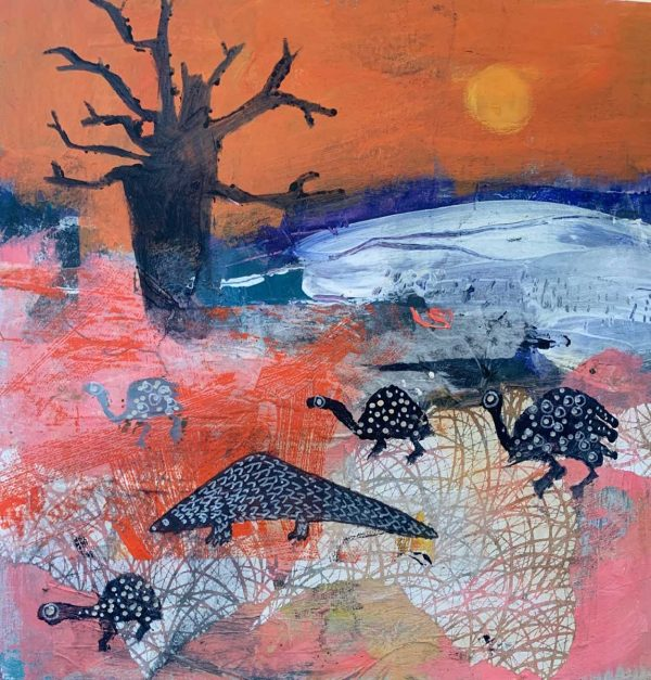 Buy this original by Colette Clegg in aid of conservation