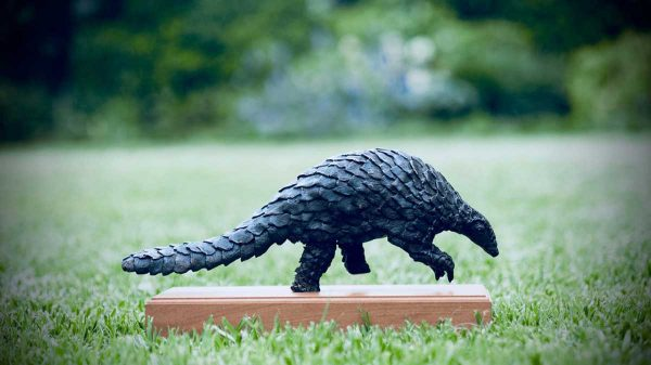 buy this bronze sculpture by Jonathan in aid of conservation