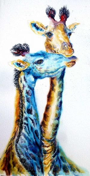 Buy this original by Jos in aid of conservation