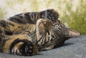 Buy this print by Natalie Mascall in aid of conservation