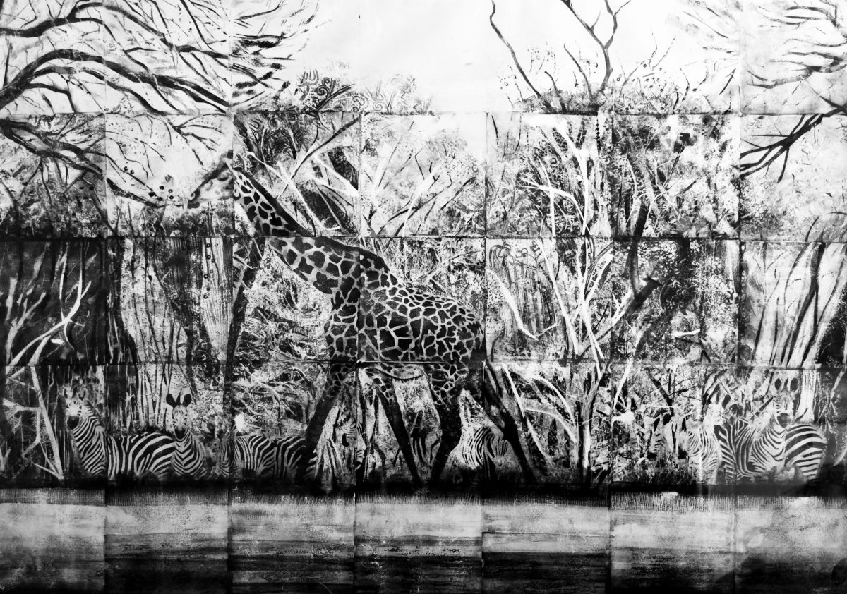 Giraffe and Friends by Bryony Wingfield Digby