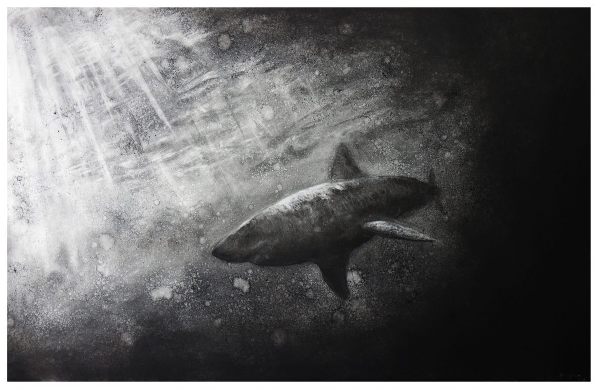 Art work by Daniel Wilson titled Out of the Darkness