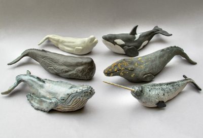Ceramic sculpture by Holly Young