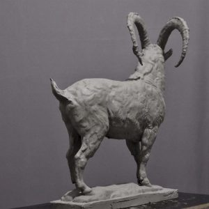 Sculpture Ibex by Yang Dong
