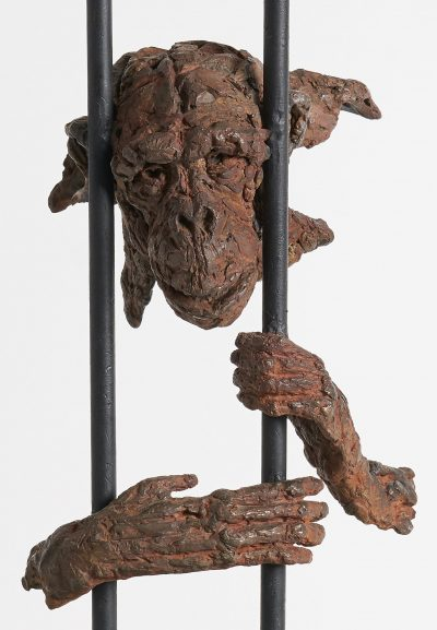 Sculpture by John Frank Hoekzema called Born to be Wild