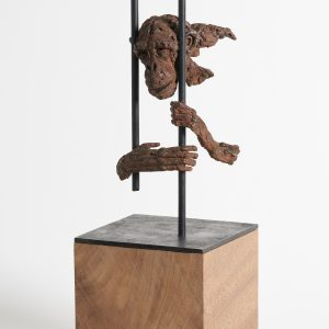 A sculpture by John Frank Hoekzema called Born to be Wild