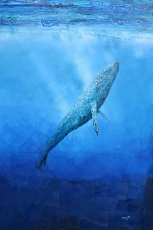 A painting by Johny Reid called Prince of Whales