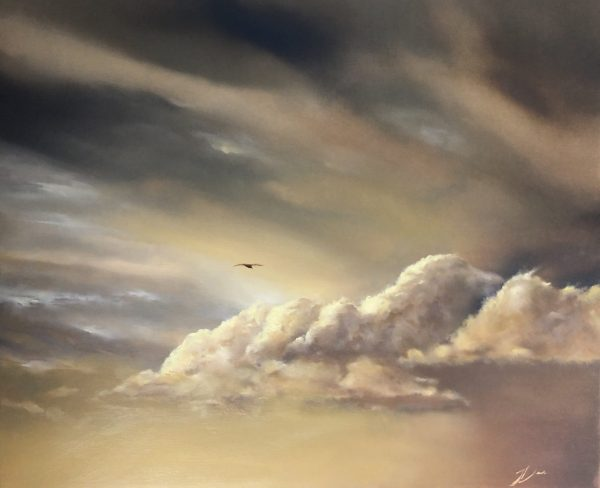A painting by Joni-Leigh Doran called Between Dreams