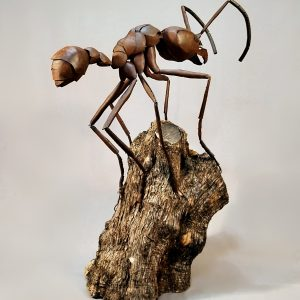 Sculpture by Jose Miguel Pino called Leafcutter Ant