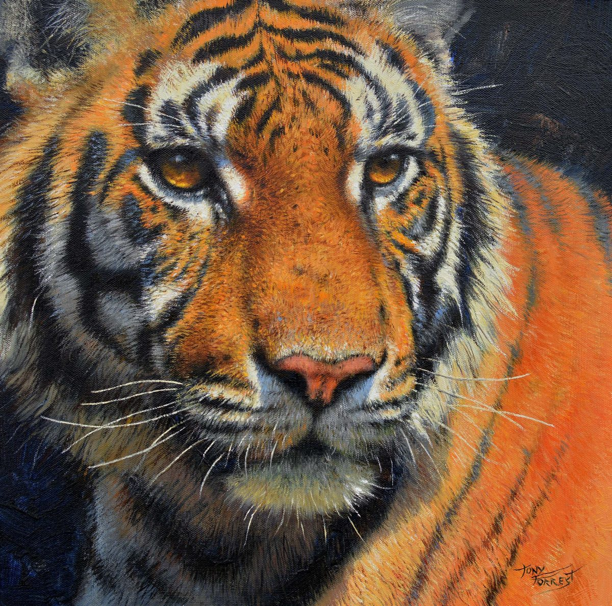 Painting by Tony Forrest called Majesty
