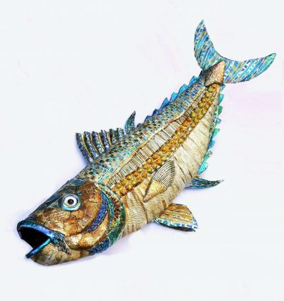 Artwork by Val Hunt called Blue Finned Tuna Fish