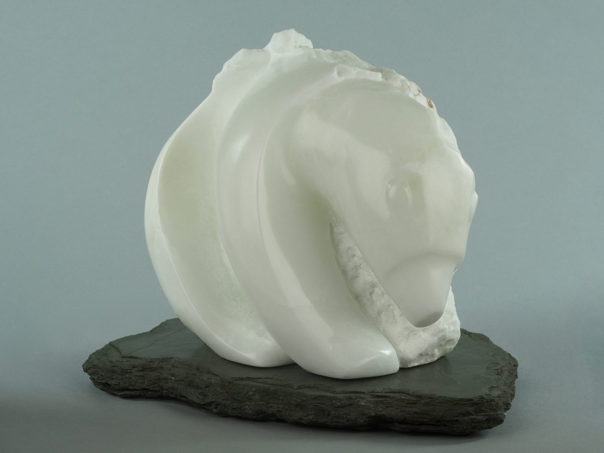 Sculpture by Veronica Dance called Ice Bear