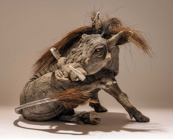 Buy this delightful sculpture by Nick in aid of conservation